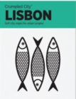 Lisbon Crumpled City Map - Book