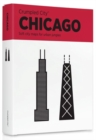 Chicago Crumpled City Map - Book