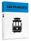San Francisco Crumpled City Map - Book