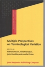 Multiple Perspectives on Terminological Variation - Book