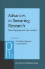 Advances in Swearing Research : New languages and new contexts - Book