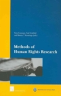 Methods of Human Rights Research - Book
