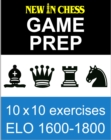 New In Chess Gameprep Elo 1600-1800 - eBook