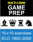 New In Chess Gameprep Elo 1800-2000 - eBook