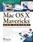 Mac OS X Mavericks for Seniors : Learn Step by Step How to Work with Mac OS X Mavericks - Book