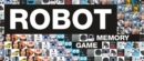 Robot memory game - Book