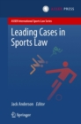 Leading Cases in Sports Law - eBook