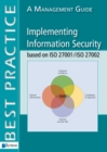 Implementing Information Security Based on ISO 27001/ISO 27002 : A Management Guide - Book