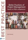 Better Practices of Project Management Based on IPMA Competences - Book