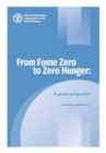 From Fome Zero to Zero Hunger : A Global Perspective - Book