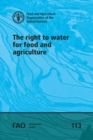 The right to water for food and agriculture - Book