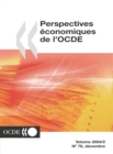 Perspectives economiques de l'OCDE, Volume 2004 Numero 2 - eBook