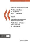 Aid Activities in Europe and Oceania 2003 - eBook