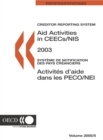 Aid Activities in CEECs/NIS 2003 - eBook
