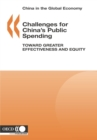 China in the Global Economy Challenges for China's Public Spending Toward Greater Effectiveness and Equity - eBook