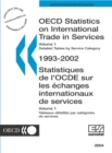 OECD Statistics on International Trade in Services 2004, Volume I, Detailed tables by service category - eBook
