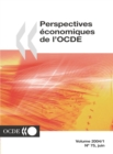 Perspectives economiques de l'OCDE, Volume 2004 Numero 1 - eBook