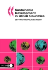 Sustainable Development in OECD Countries Getting the Policies Right - eBook