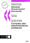 National Accounts of OECD Countries 2004, Volume IV, General Government Accounts - eBook