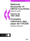 National Accounts of OECD Countries 2004, Volume II, Detailed Tables - eBook