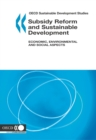OECD Sustainable Development Studies Subsidy Reform and Sustainable Development Economic, Environmental and Social Aspects - eBook
