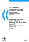 OECD Statistics on International Trade in Services: Volume II (Detailed Tables by Partner Country) 2006 - eBook