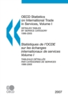 OECD Statistics on International Trade in Services 2007, Volume I, Detailed tables by service category - eBook