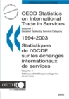 OECD Statistics on International Trade in Services 2005, Volume I, Detailed tables by service category - eBook