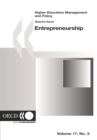 Higher Education Management and Policy, Volume 17 Issue 3 Special Issue on Entrepreneurship - eBook