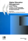 Higher Education Management and Policy, Volume 20 Issue 2 Higher Education and Regional Development - eBook