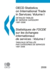 OECD Statistics on International Trade in Services 2008, Volume I, Detailed tables by service category - eBook