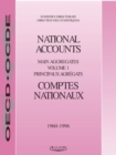 National Accounts of OECD Countries 1998, Volume I, Main Aggregates - eBook
