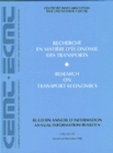 Research on Transport Economics 1998 - eBook