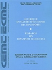 Research on Transport Economics 1999 - eBook