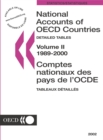 National Accounts of OECD Countries 2002, Volume II, Detailed Tables - eBook