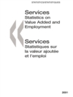 Services: Statistics on Value Added and Employment 2001 - eBook