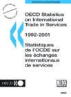 OECD Statistics on International Trade in Services 2003 - eBook