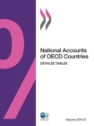 National Accounts of OECD Countries, Volume 2011 Issue 2 Detailed Tables - eBook