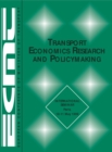 Transport Economics Research and Policymaking - eBook