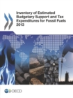 Inventory of Estimated Budgetary Support and Tax Expenditures for Fossil Fuels 2013 - eBook