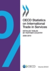 OECD Statistics on International Trade in Services, Volume 2012 Issue 2 Detailed Tables by Partner Country - eBook