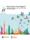 How's Life in Your Region? Measuring Regional and Local Well-being for Policy Making - eBook