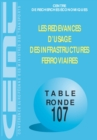 Tables Rondes CEMT Les redevances d'usage des infrastructures ferroviaires - eBook