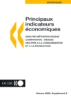 Principaux indicateurs economiques Analyse methodologique comparative : Indices des prix a la consommation et a la production Volume 2002 Supplement 2 - eBook