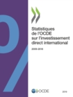 Statistiques de l'OCDE sur l'investissement direct international 2019 - eBook
