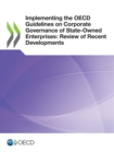 Implementing the OECD Guidelines on Corporate Governance of State-Owned Enterprises: Review of Recent Developments - eBook