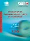Tables Rondes CEMT Estimation et evaluation des couts de transport - eBook