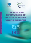 ITF Round Tables The Cost and Effectiveness of Policies to Reduce Vehicle Emissions - eBook
