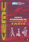Economic Aspects of Taxi Accessibility - eBook