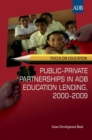 Public-Private Partnerships in ADB Education Lending, 2000-2009 - eBook